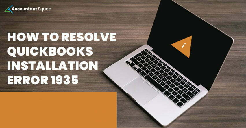 QuickBooks Error 1935