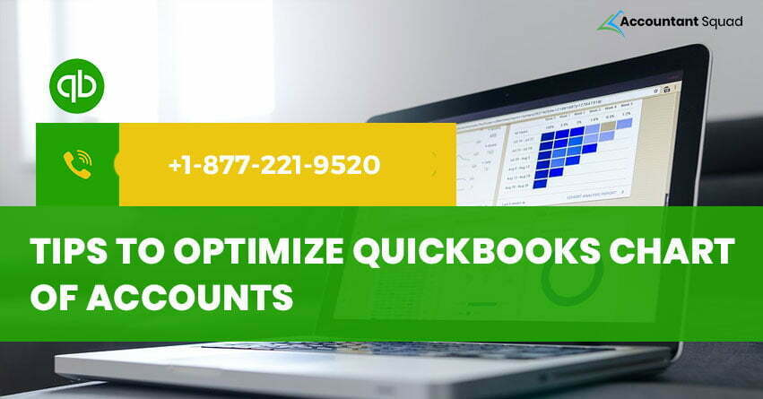 Tips to Optimize QuickBooks Chart of Accounts