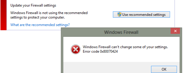 Update your firewall