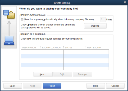 Copy the files of QuickBooks on the Desktop