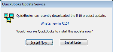 Install QuickBooks Update
