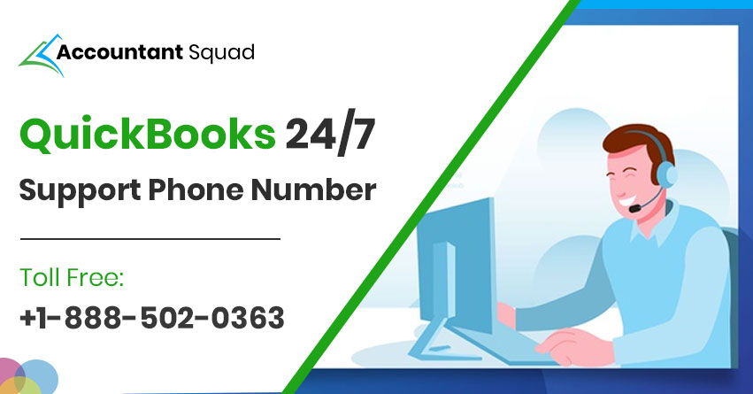 QuickBooks 247 Support Phone Number